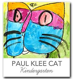 Video and lesson plan that shows kids how to draw and  paint Paul Klee's Cat and Bird. Literature tie-in.