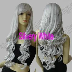 16 Color Heat Resistant 32 in Long 80cm Spiral Curly Cosplay Wig Free Shipping | eBay