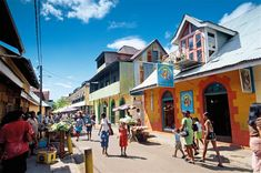 "A popular market strip that makes the capital of Seychelles, Victoria,  vibrant.  It is known to the locals as ""Lari  Bazar""."
