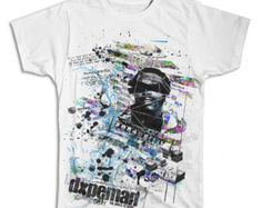 DXPEMAN collage t-shirt printed on comfortable ringspun cotton t-shirt.  Skull design is perfect for skate and streetwear.