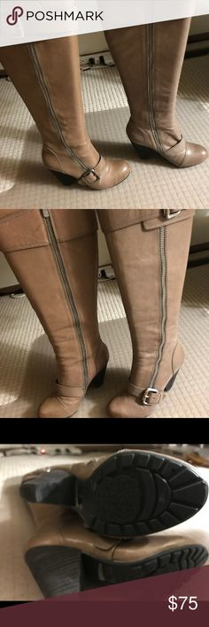 Boots Tall brown Vince Camino boots! Only been worn a couple times. Awesome condition Vince Camuto Shoes Heeled Boots