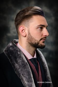 Tunsoare si barba. #barbering #haircut #hairstyle #men #tunsoare #barba #beautycreators #donnacarina Hairstyle Men, Cool Hairstyles, Barber, Haircuts, Rings For Men, Bob, Hair Styles, Beauty, Fashion