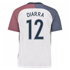 2016-17 France Away Shirt (Diarra 12)
