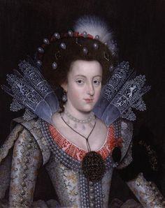 Elizabeth Stuart, Queen of Bohemia, daughter of James I, granddaughter of Mary…