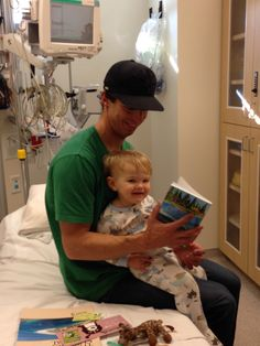 Maggie's Book 1 MaggieMooseTracks® Making Friends helps 19 month old Koa's 'boo boo' feel better in the Emergency Room.