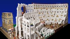 """Architizer Blog » Constructing The World's First """"LEGO Colosseum"""", One 'Brick' At A Time"""