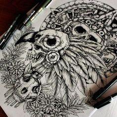 Eagle warriors More ideas for t shirt desings #tshirtdesing #drawing #art #inkdraw #ink #skulls #flowers #painting #aztec #maya #dibujo #Tattoo #tattoodesing #ilustración #ilustration #I #hate #using #hashtags