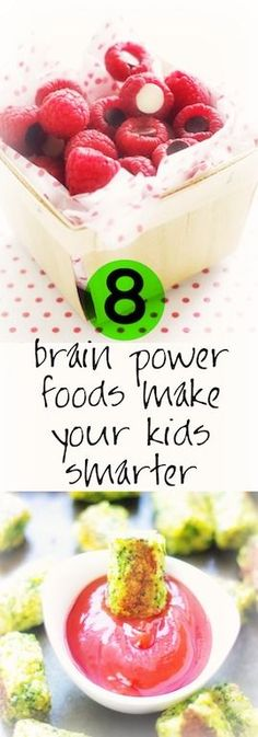 8 brain power foods to make your kids learn better! #start the school year off right//brain food//elite foods//learn better//smarter kids
