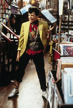 """""""This is a really volcanic ensemble you're wearing, it's really marvelous!""""  Duckie, Pretty in Pink"""