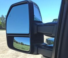 Should You Get Trailer Tow Mirrors on Your F-150? Tough choice. https://www.carbuyingtips.com/articles/blog/should-you-get-the-trailer-tow-mirrors-on-your-f-150.htm #ford #fordf150 #f150