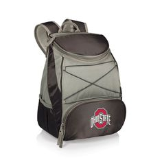 Picnic Time Ohio State Buckeyes PTX Backpack Cooler, Black