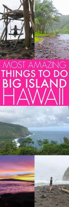 You MUST see these places on Hawaii's Big Island - The Best Most Amazing Things to Do on Hawaii Island   platingsandpairings.com