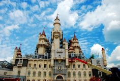 Disney castle in Singapore