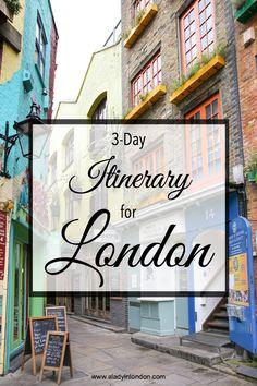 3-Day London Itinerary