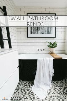 Trending Small Bathroom Ideas