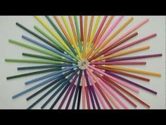 Amazing Stop-Motion Music Video Made Using 920 Colored Pencils. Against the Grain.