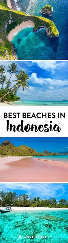 Indonesia Travel | Planning a trip around Indonesia? Check out our list of the best beaches in Bali, Java, all the way to Sumatra!: