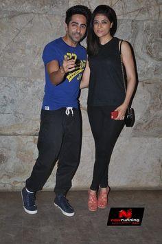 Ayushmann Khurrana and Tahira Khurrana Watch Bombay Talkies