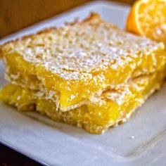 When life hands you lemons and you make #lemonsquares and they come out wrong and you #icingsugar the hell out of them to cover your tracks