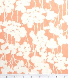Dogwood Floral Linen, April Johnston Project Runway fabrics