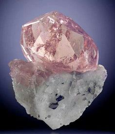 Morganite. My favorite, top three gem.