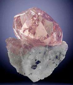 Morganite. My favorite, top three gem.