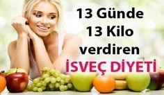 İsveç Diyeti ile 13 günde 13 kilo vermek ister misiniz? Bu yazımızda sizlere İsveç Diyeti Listesi ve İsveç Diyeti 'nin zararı var mıdır? bunlardan bahsedeceğim. 13 gün boyunca uygulay