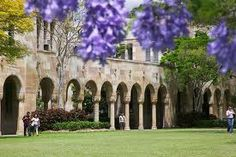 The beautiful St. Lucia campus of University of Queensland in Brisbane, Australia - one of our study abroad exchange program destinations Student Travel, The Cloisters, Queensland Australia, Study Abroad, Vacation Spots, Great Places, Scenery, Around The Worlds, Paisajes