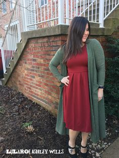 How perfect is this LuLaRoe Amelia and Sarah combo?!