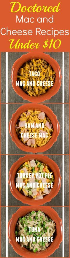 Got a box of Kraft macaroni and cheese? Make one of these easy dinner recipes! They're budget friendly because these macaroni and cheese recipes can be made for less than $10.