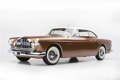 Did Not Meet Reserve* at Scottsdale 2015 - Lot #5097 1955 CHRYSLER ST SPECIAL GHIA