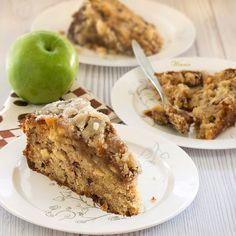 משהו מתוק: עוגת תפוחים בציפוי קרמל