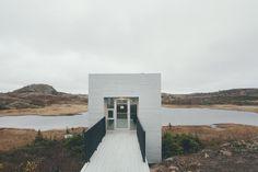 Mysteries of Fogo Island by Julien Pelletier, via Behance