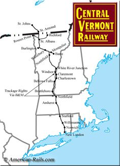 The Central Vermont Railway
