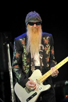 billy gibbons with a telecaster | Billy Gibbons BFG Esquire Replica