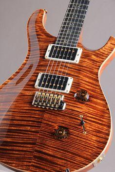Paul Reed Smith Wood Library Japan Limited Custom 24 10Top Ebony Fingerboard Copper N/Binding 2014