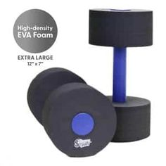 1 Pair Foam Heavy Resistance Barbells Pool Barbell Float Aqua Exercises Equipment for Water Aerobics Bodybuilding Training Fitness Yoga Dilwe Fitness Dumbbell