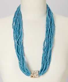 Handcrafted in Ghana using recycled glass beads