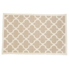 Kids' Rugs: Kids Aqua Woven Cotton Rug | The Land of Nod