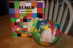 Snacks and Stories: Elmer the Elephant Pumpkin Pal and Snack