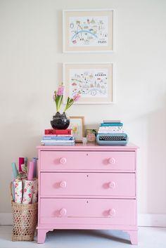 #comoda #pink #colores #pastel