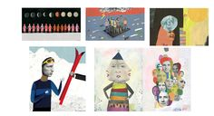 Print Illustration Samples (1) on Behance
