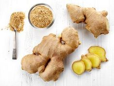 Ginger has wonderful health benefits. And most interesting for people with type 2 diabetes, ginger helps improve blood sugar and control. Bath Recipes, Dog Food Recipes, Healthy Recipes, How To Stop Migraines, Prevent Migraines, Stevia, Ginger Benefits, Alkaline Foods, Diabetes Management