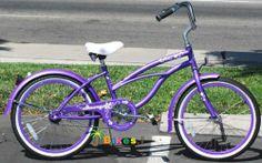 "20"" Beach Cruiser Bicycle Micargi Jetta Girls Kids Children Bike Purple by Micargi, http://www.amazon.com/dp/B005GWWWAS/ref=cm_sw_r_pi_dp_ycossb142PRVA"