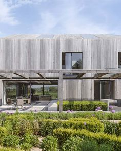 House in Oxfordshire Solar Heating Panels, Natural Swimming Ponds, Pv Panels, Cladding Materials, Garage Roof, Game Room Basement, Hill Park, Glass Roof, Light Architecture