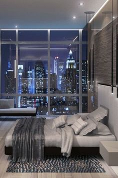 to design a luxurious and classy bedroom « mistertekno. Cool Apartments, Luxury Apartments, Best Interior Design, Luxury Interior, Room Interior, Design Interiors, Luxury Decor, Apartment Interior, Mesa Home Office
