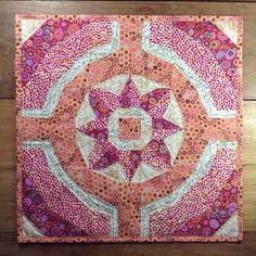 Flower Ring - Eine Patchwork Nähanleitung (Nähen auf Papier) - Patchwork & Quilten bei Makerist