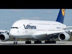 Airbus A380 Worlds Biggest Passenger Airliner Mega Passenger Plane Maide...