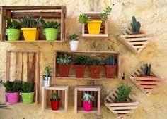 Resultado de imagem para decoração de jardim