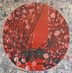 "Saatchi Online Artist: Yulia Luchkina; Mixed Media Painting ""My zen."""